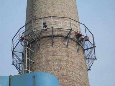 新建烟囱施工安全计划